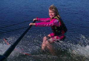 learn to water ski oz ski resort